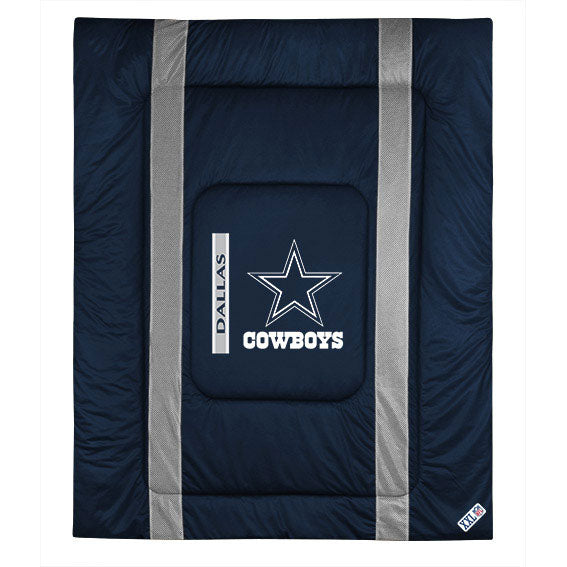 Dallas Cowboys Bedroom Decor: NFL Dallas Cowboys Twin Comforter Sidelines Football Bed