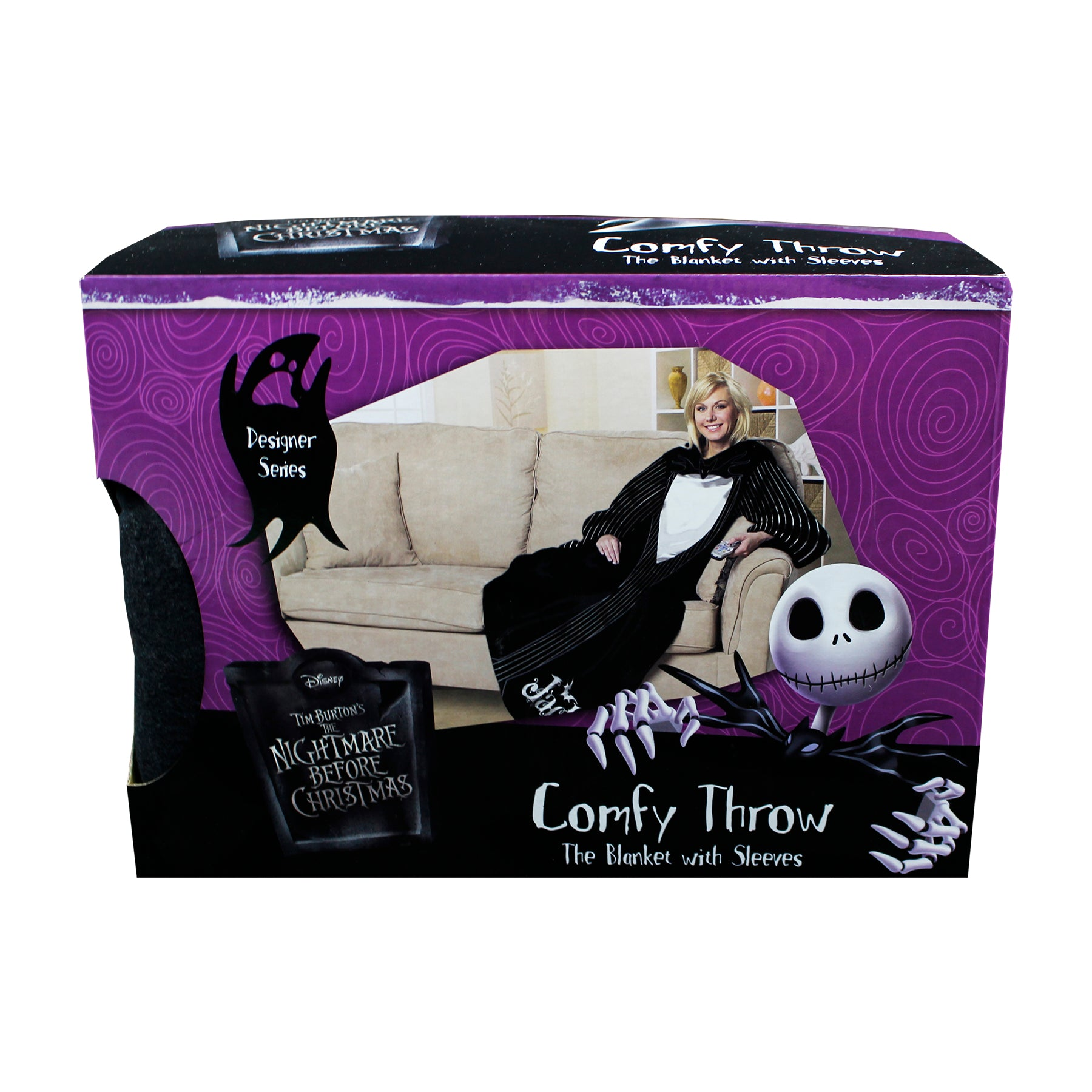 Nightmare Before Christmas Comfy Throw Jacks Suit - oBedding.com