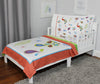 Paisley Peacock Toddler Bedding Set