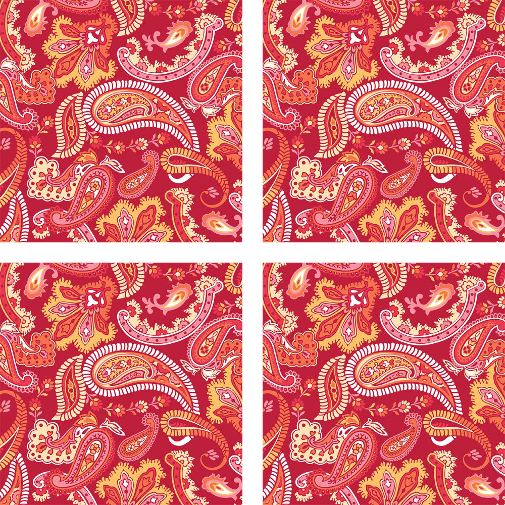 wall pops obedding com paisley please red wall decal collection