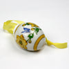Hutschenreuther Porcelain Yellow Flower 2001 Ornament