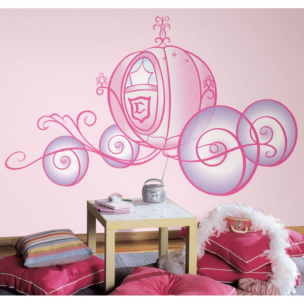 Disney Princess Carriage Wall Accents