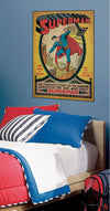 Superman First Issue Comic Book Cover Wall Accents