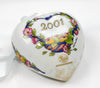 Hutschenreuther Porcelain The Heart 2001 Ornament
