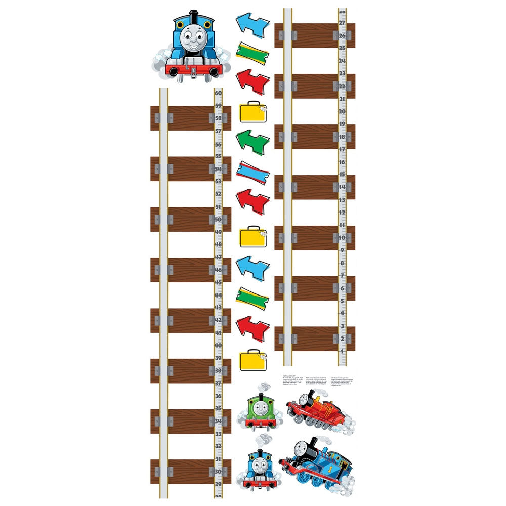 Thomas train growth chart large wall accent decal set obedding thomas and friends wall accents nvjuhfo Choice Image