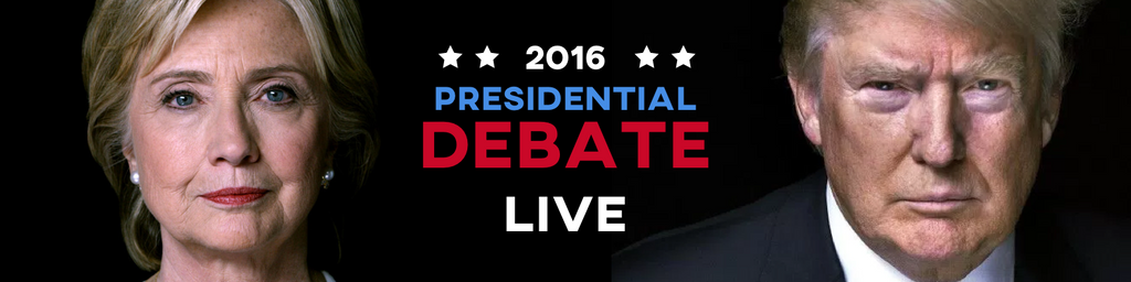 How to Watch the First Clinton-Trump 2016 Presidential Debate Online Free - Live Stream