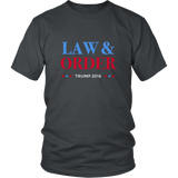 Law & Order - Donald Trump Presidential Shirt