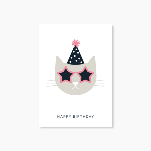 Carte Happy Birthday Audrey Jeanne - Hariet et Rosie