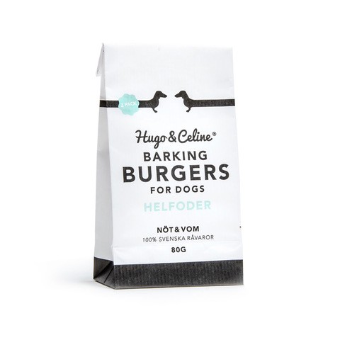 Burger sec - aliment complet Barking burger
