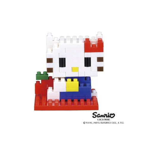 Nanoblock Hello Kitty version vintage - Hariet et Rosie