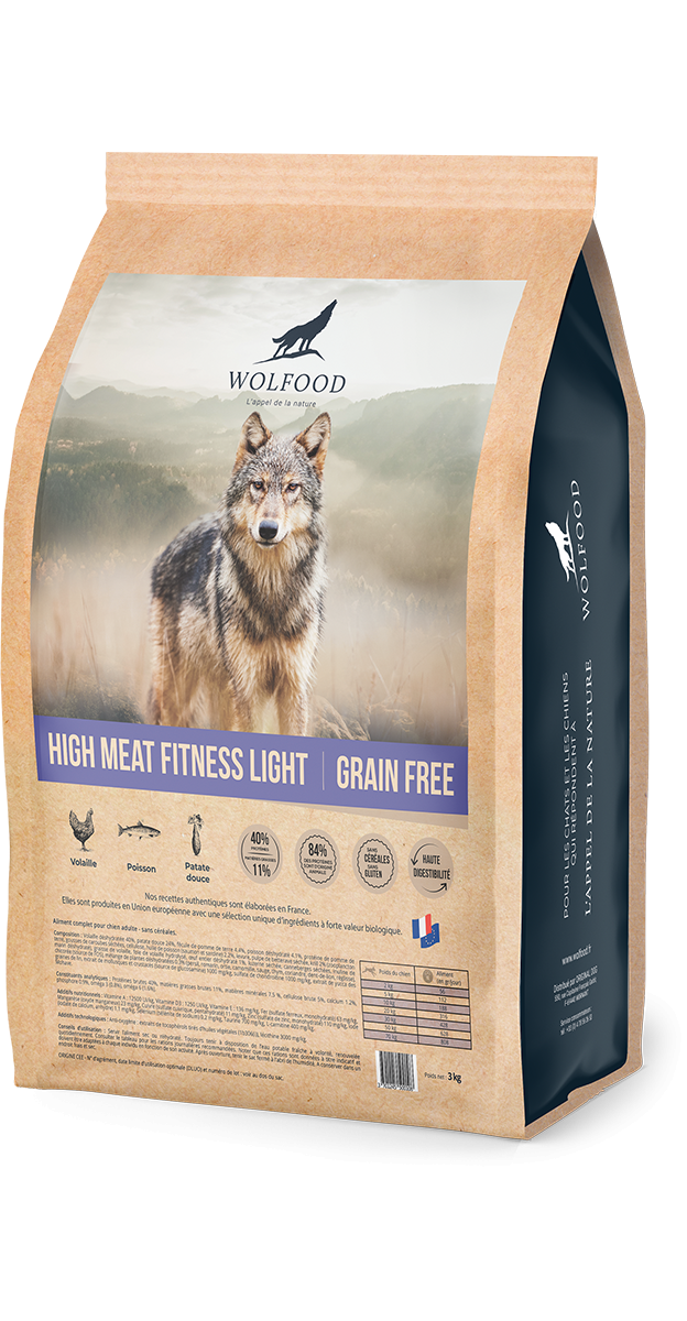 Croquettes pour chien High Meat Fitness Light