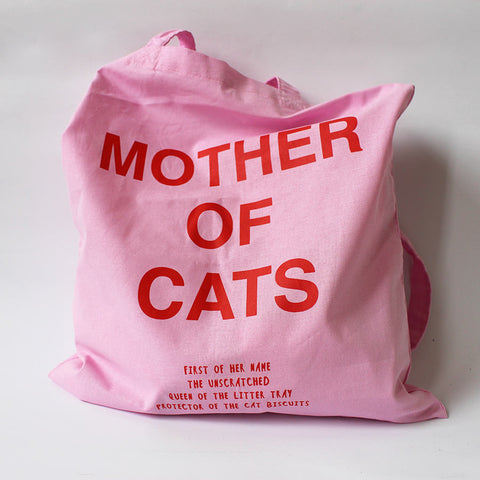 Tote bag Mother of cat