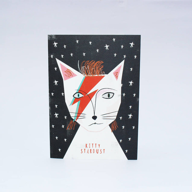 Carte postale Kitty Stardust David Bowie - Hariet et Rosie