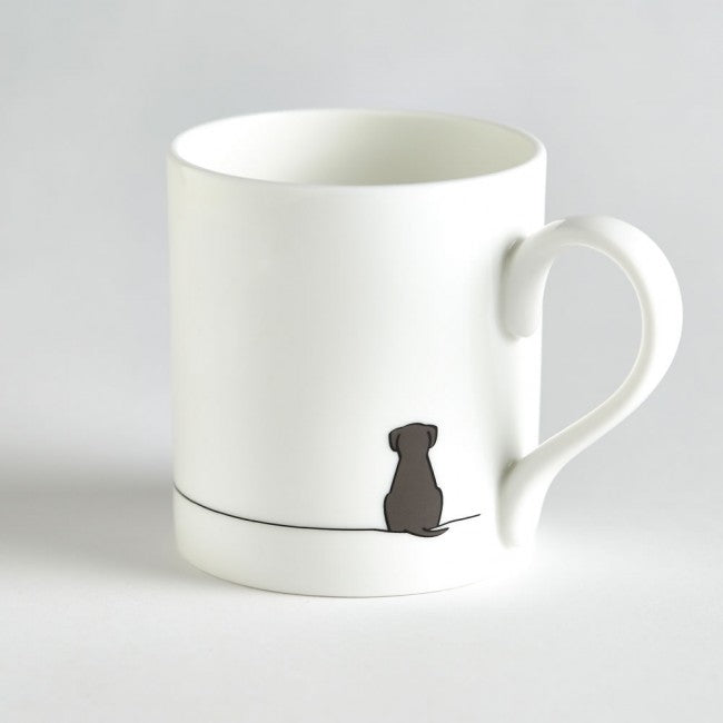 Tasse chien assis Jin design