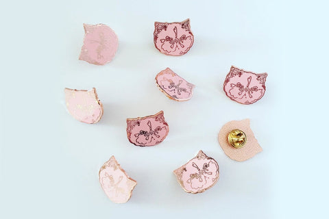 Kitty pin's - Hariet et Rosie