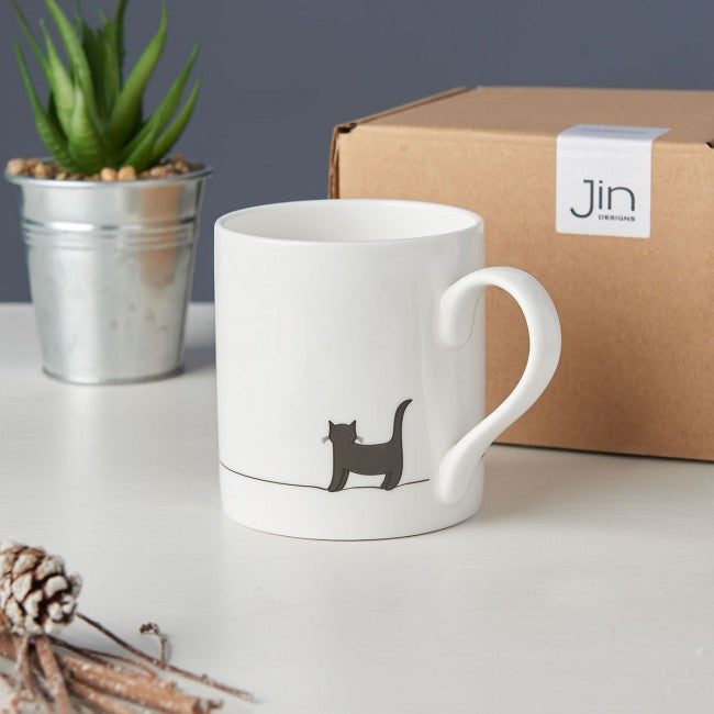 Tasse chat debout Jin design