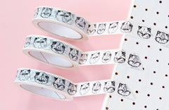 Kitty Mask Tape - Hariet et Rosie