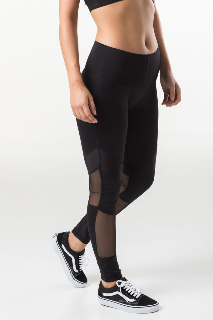 Allstar Womens Leggings - Black