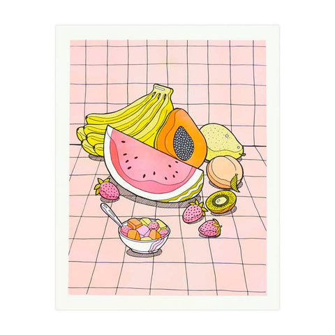 Fruit Basket Print