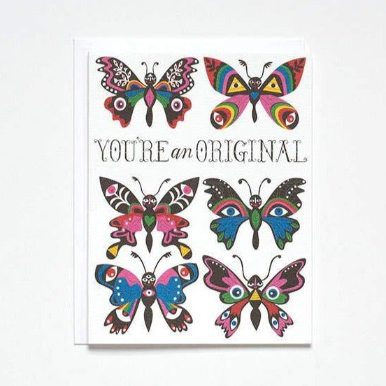 You're An Original Card