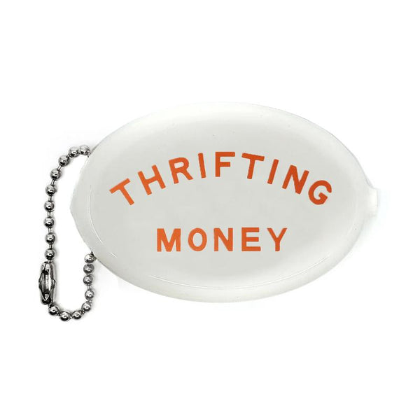 Thrifting Money Coin Pouch Keychain