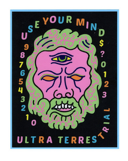 Use Your Mind Sticker