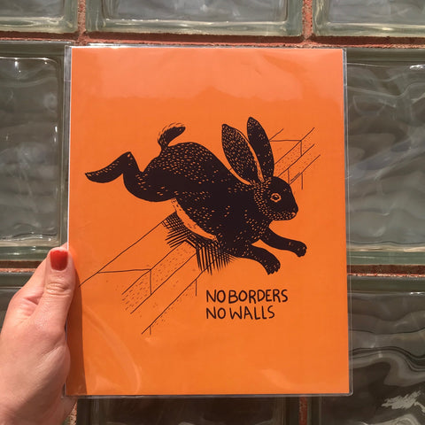 No Borders No Walls Print