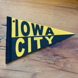 Iowa City Mini Pennant