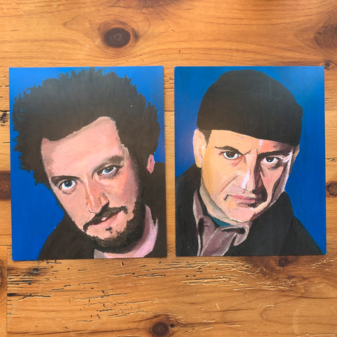 Home Alone (Harry and Marv) Print Set