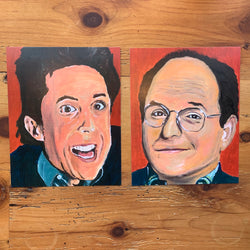 Seinfeld (Jerry and George) Print Set