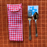 Silverware Travel Pouch
