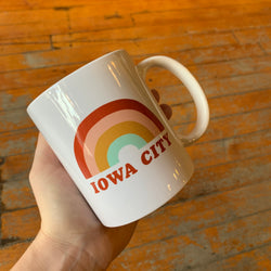 Iowa City Rainbow Mug