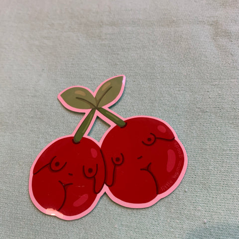 Cherry Girls Sticker