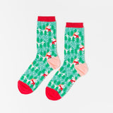Holiday Unicorn Crew Socks