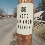 Vote For Your Mother Poster