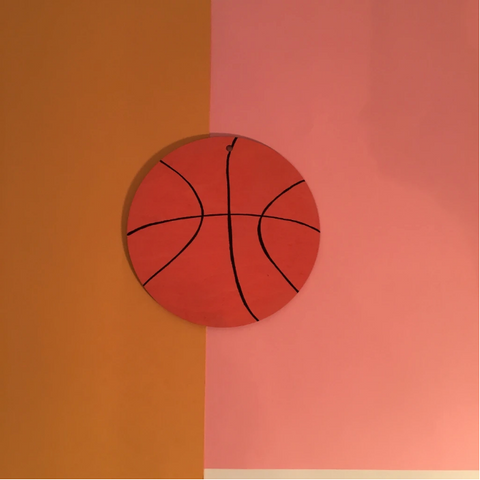 Basketball Wall Charm