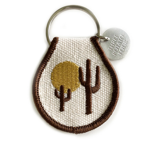 Desert Vibes- Patch Keychain