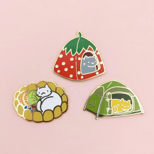 Cat Houses Pins