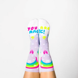 Magical Unicorn Crew Socks