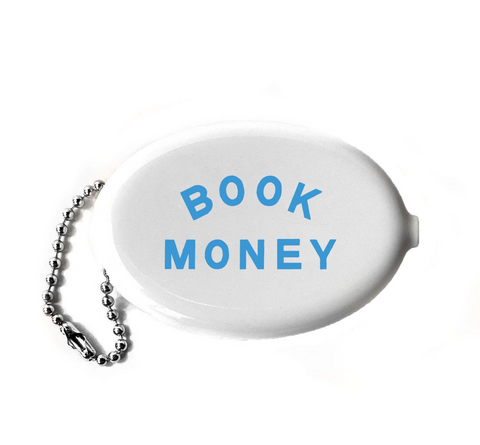 Book Money Coin Wallet Keychain