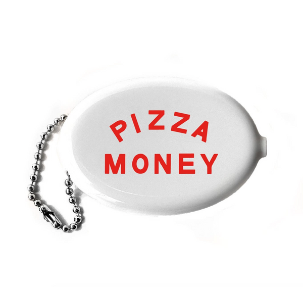 Pizza Money Coin Wallet Keychain