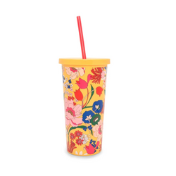 Sunshine Super Bloom Sip Tumbler with Straw