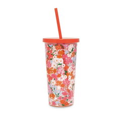Secret Garden Sip Tumbler with Straw