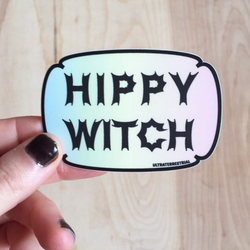 Hippy Witch Sticker