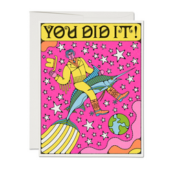 Marlin Rodeo (You Did It!) Card