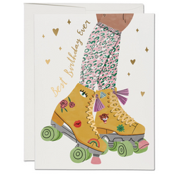 Roller Skate (Best Birthday Ever) Card