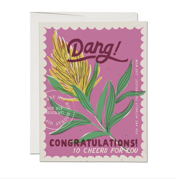 Dang! Congratulations Card