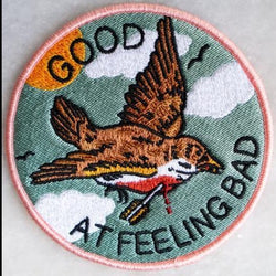 Good At Feeling Bad Iron-On Patch