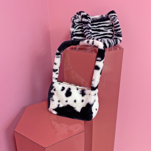 Plush Cow Bag