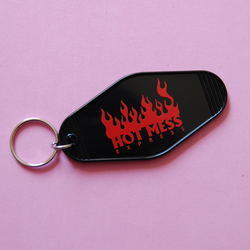 Hot Mess Express Keychain